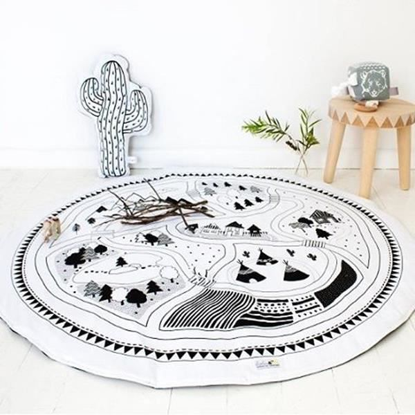 Awesome Tapis Rond Scandinave Garcon Photos - House Design ...