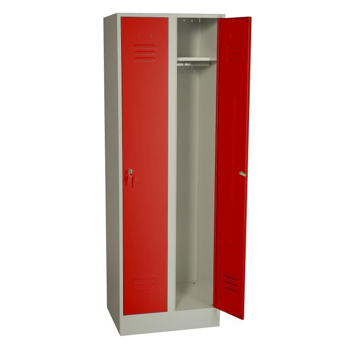 Free fly armoire metal with meuble chaussure fly for Meuble 0 chaussures fly