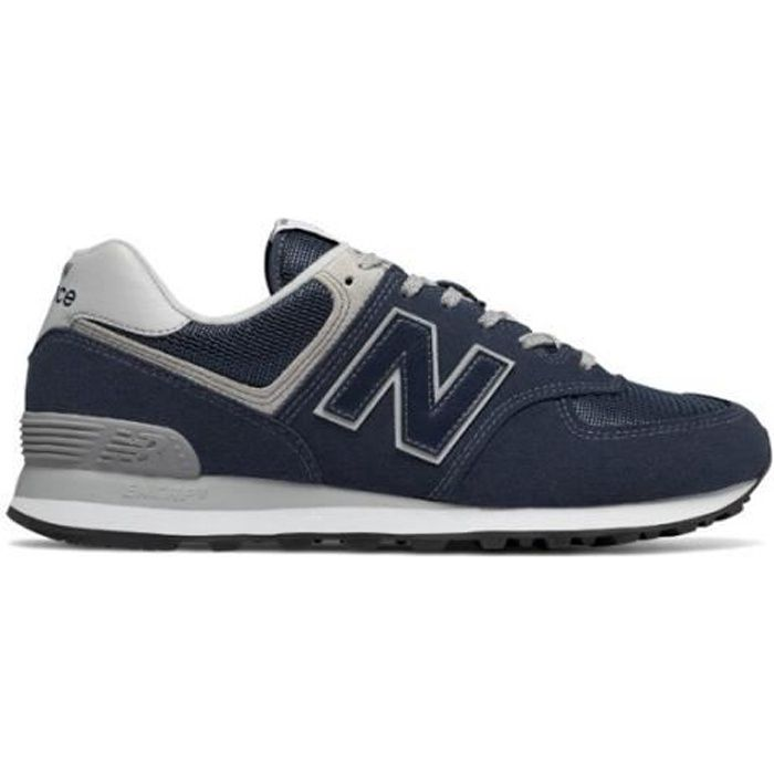 basket new balance 574 bleu