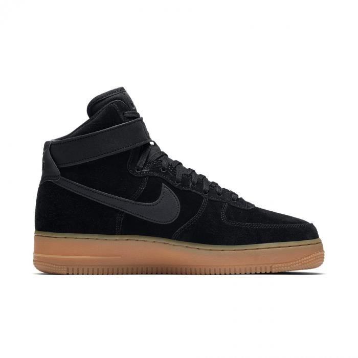 Basket Nike Air Force 1 High 07 LV8 Suède - AA1118-001 Noir ...