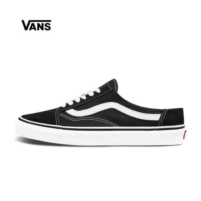 chaussures old skool vans noire femme