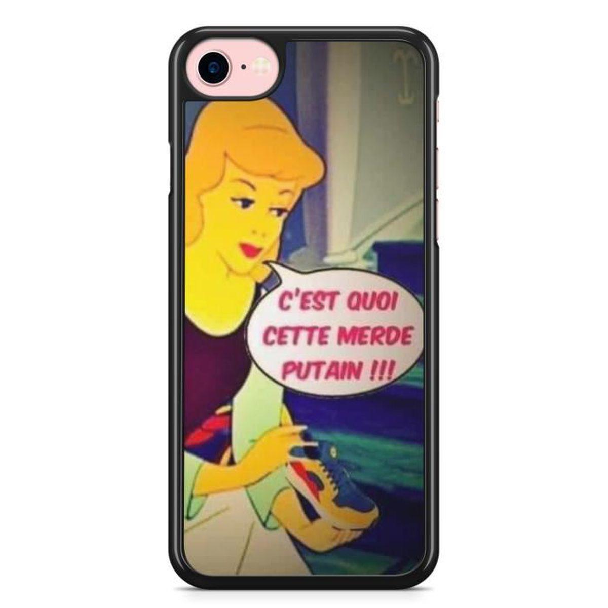 Coque iPhone 6 6s Cendrillon Baskets Rouge Jaune enseigne Lidl ...