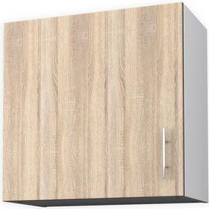 ÉLÉMENTS HAUT OBI Meuble haut de cuisine L 60 cm - Décor chêne c