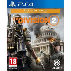 JEU PS4 The Division 2 Édition Gold Jeu PS4