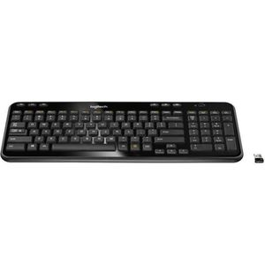 CLAVIER D'ORDINATEUR Logitech clavier sans fil - K360 Dark Grey