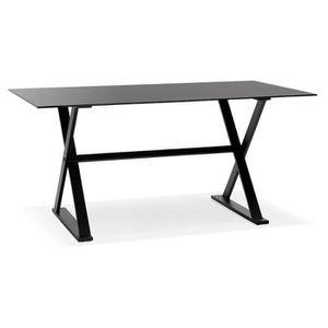 TABLE À MANGER SEULE Table à diner / bureau design avec pieds en croix