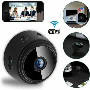 CAMÉRA MINIATURE Mini Caméra Espion Caméra de Sécurité à Distance H