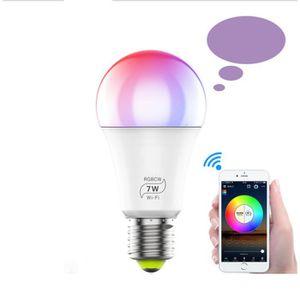AMPOULE INTELLIGENTE Ampoule intelligente, ampoule LED Wi-Fi RGBW [6.5W