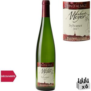 VIN BLANC Hubert Meyer Alsace Sylvaner Blanc 2017 x6