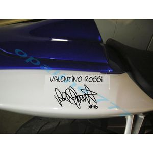 stickers valentino rossi achat vente pas cher. Black Bedroom Furniture Sets. Home Design Ideas