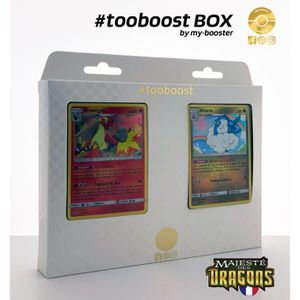 CARTE A COLLECTIONNER Coffret #tooboost Brasegali et Altaria - SM7.5  Ma