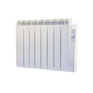 pi/èces de +//- 17-24 m/² thermostat digital programmable PID 1500 W HAVERLAND RC12E Radiateur /électrique /à inertie fluide caloporteur usage id/éal 1-6h//jour Blanc