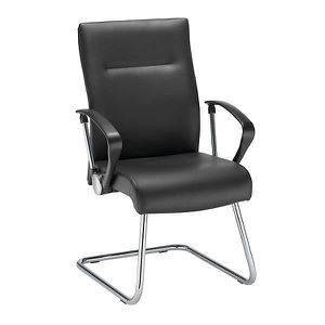 CHAISE DE BUREAU Fauteuil visiteur - noir - tissu - fauteuil siège