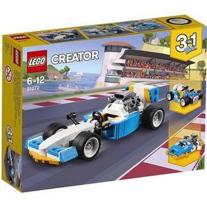 ASSEMBLAGE CONSTRUCTION LEGO® Creator 31072 Les moteurs de l'extrême