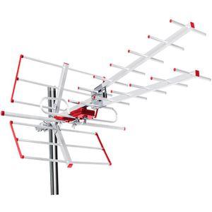 RÉGLAGE ANTENNE Antenne directionnelle d'éxterieure TV DVB-T combo