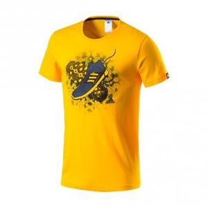 T-SHIRT Tee-Shirt Tentro Graphic Yellow - adidas Performan