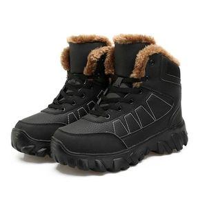 BOTTE Bottes d'hiver pour hommes Chaussures d'hiver de m