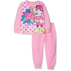 74d5ab8e59e38 Minnie Pyjama manches longues Fille Polaire - Rose Rose Rose - Achat ...