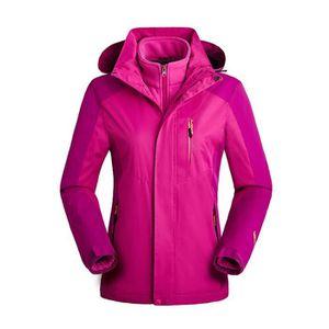 COUPE-VENT DE SPORT Femme Camping randonnée manteau coupe-vent impermé