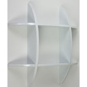 etagere cube murale blanc achat vente etagere cube. Black Bedroom Furniture Sets. Home Design Ideas