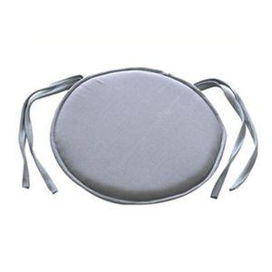 CHAISE Lot de 4galettes de 100% coton Coussin de chaise