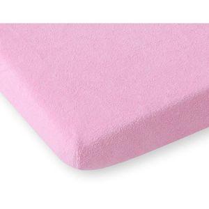 Drap-housse en tissu /éponge 120/x 60/cm pour chambre denfant Lit pour b/éb/é/ /Violet