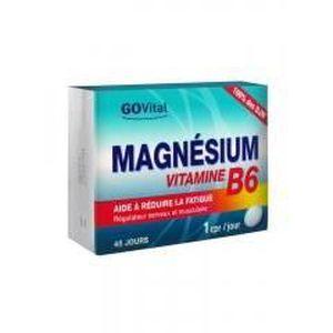 SOIN VITALITÉ Govital Magnésium Vitamine B6 45 Comprimés