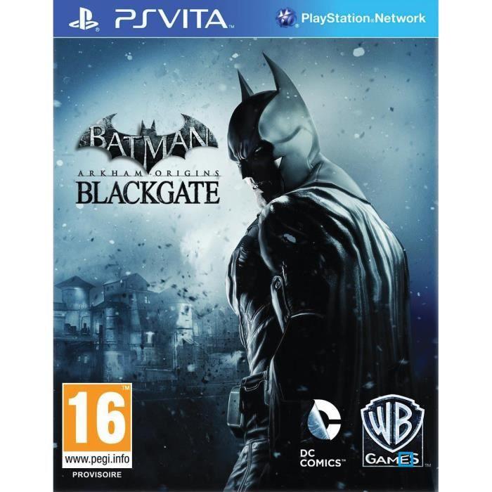 Batman Arkham Origin Blackgate Jeu PS Vita