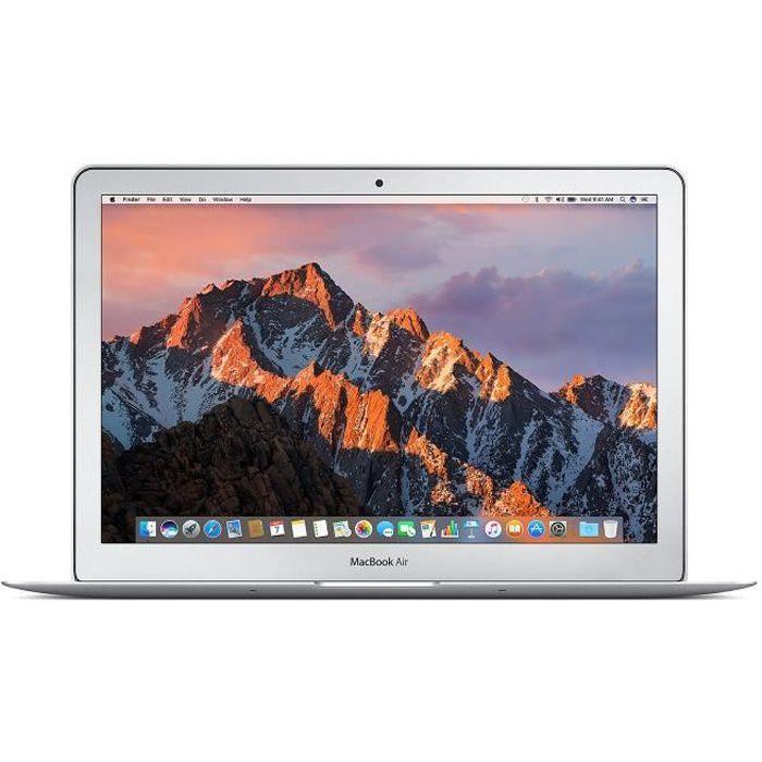 Apple MacBook Air 13,3- (début 2015)  : Intel Core i5 5250U...