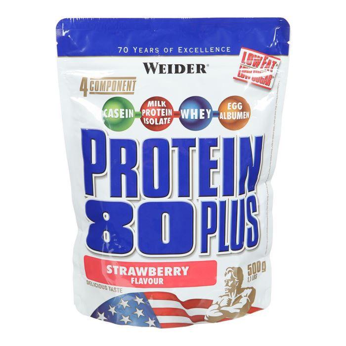 WEIDER Protein 80+ Fraise