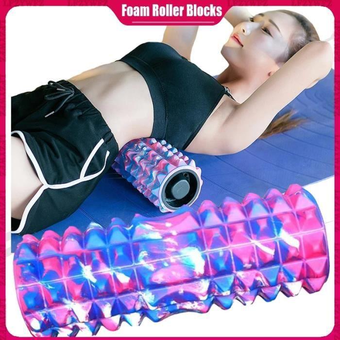 ZC Rouleau de Massage en mousse , équipement de Fitness, Pilates, exercices de gymnastique, Physio, outil de Sport