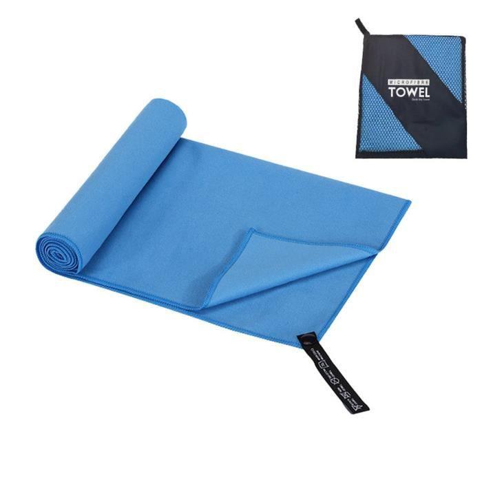 KIT PISCINE Voyage en plein air Camping microfibre serviette à séchage rapide douche plage randonnée nager ke563
