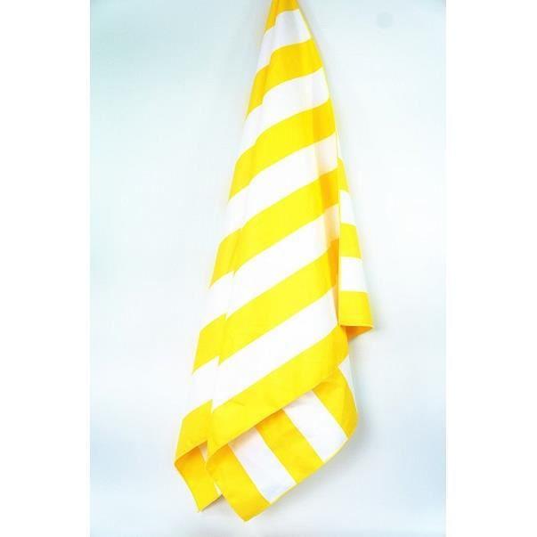Séchage rapide grande daim microfibre serviettes de plage 90*170cm voyage en plein air Spo - Modèle: Yellow 90x170cm  - KSYYMJA06097