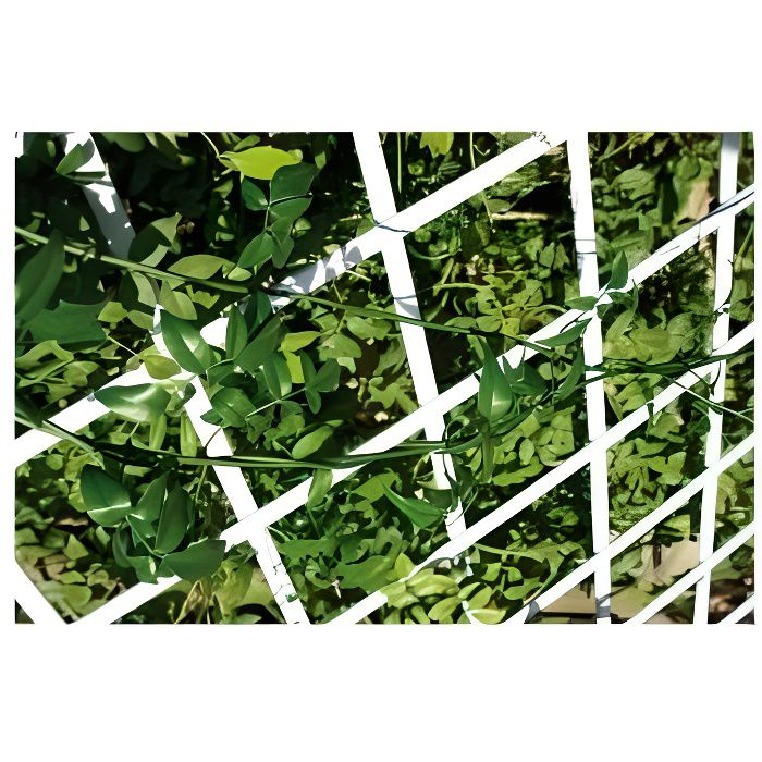 Treillis pvc extensible vg vert 0,50 x 1,50