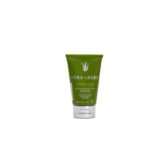 VERA GREEN Dermo Bio Crème pour le corps ultra réparatrice à l'aloe vera 100 % naturelle