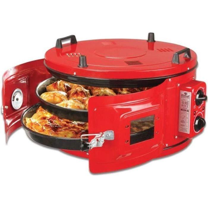 Four électrique, four turc rond électrique rouge, four marocain, four à pizza, four a pain garantie 2