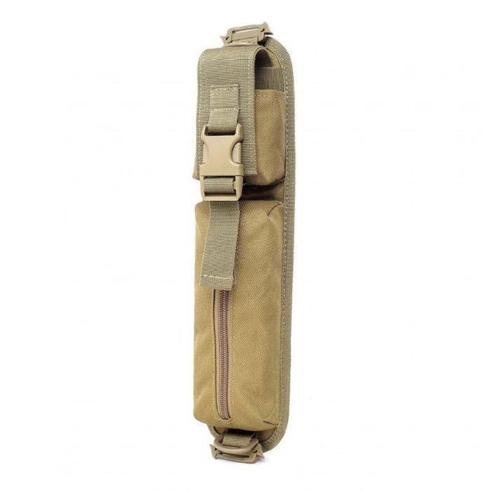 Molle Sac à dos Sac bandoulière Ruban d'accessoires de stockage kaki