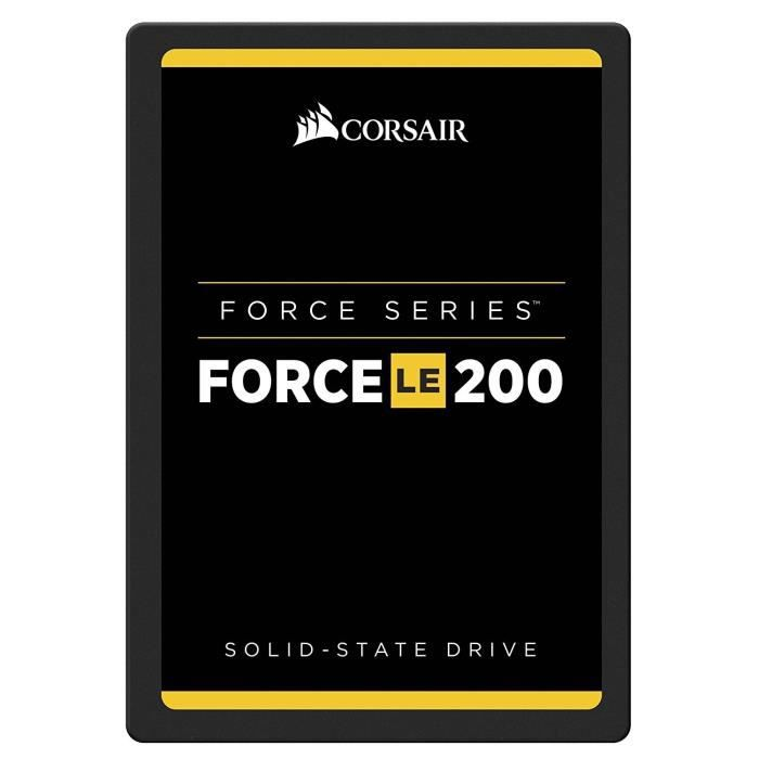 Corsair Disque SSD Force 2.5 - 240GB - SATA III - TLC 7mm - Internal Solid State Drive (CSSD-F240GBLE200C)