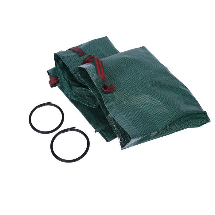 Fydun Sac de jardin 4pcs 270L sac à déchets de jardin étanche résistant à la déchirure pour les feuilles d'herbe