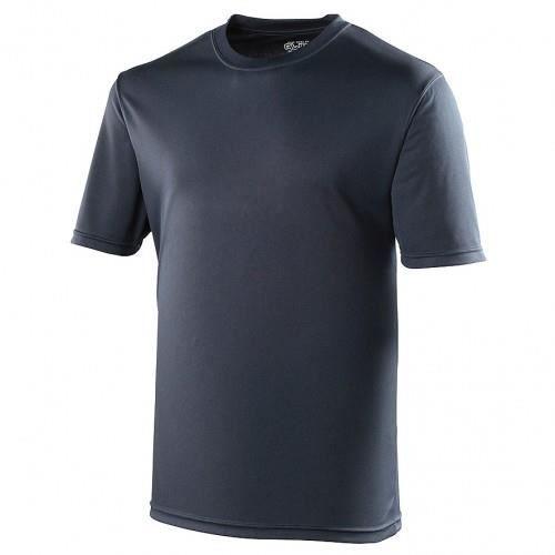T-shirt performance uni Just Cool - Homme Bleu ...