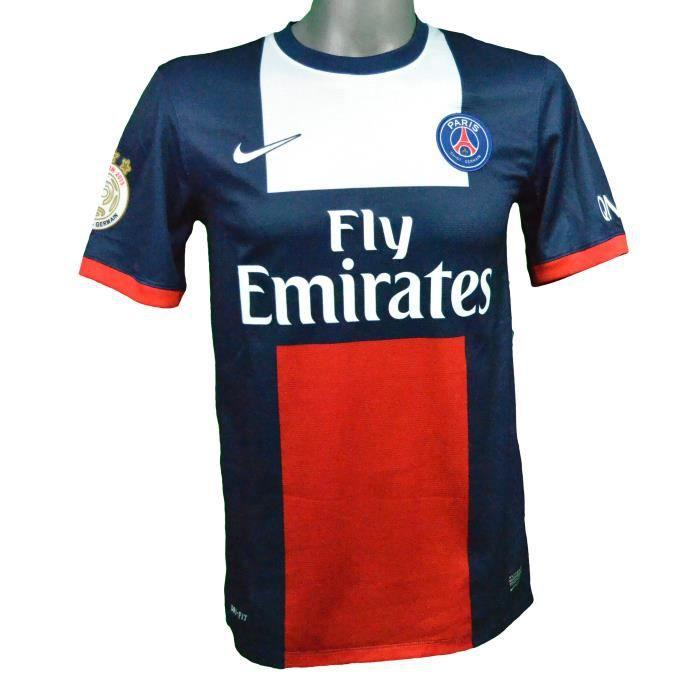 Maillot domicile PSG 2013/2014 Cavani