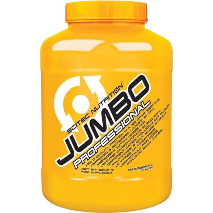 Scitec Jumbo Professional 3240 gr framboise