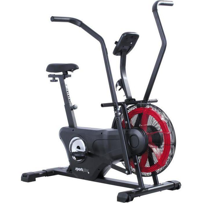 Vélo d'appartement Air Bike - SportPlus - SP-FB-2000 - Résistance à Air