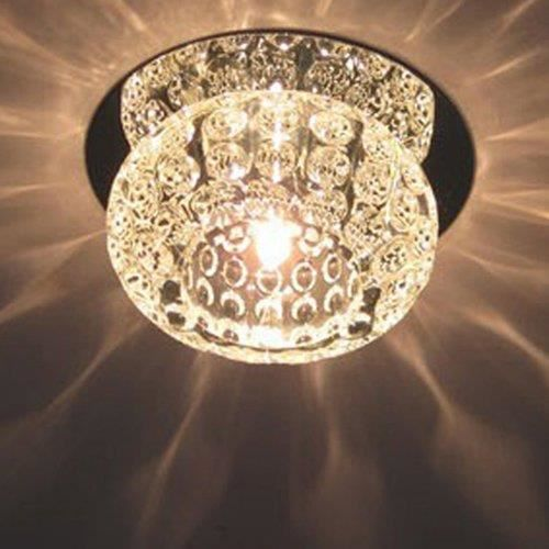 Luxux cristal New Éclairage Plafonnier moderne Bordure Home Couverture erröten Lampe de lustre pour le salon chambre tension