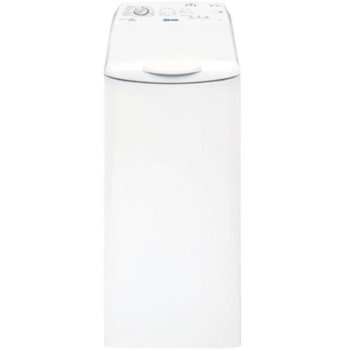 VEDETTE VLT612EX Lave-linge - 6 kg - 1200 trs / min - A+++ - Blanc