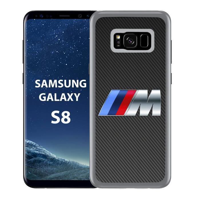Coque Samsung Galaxy S8 BMW M Carbone