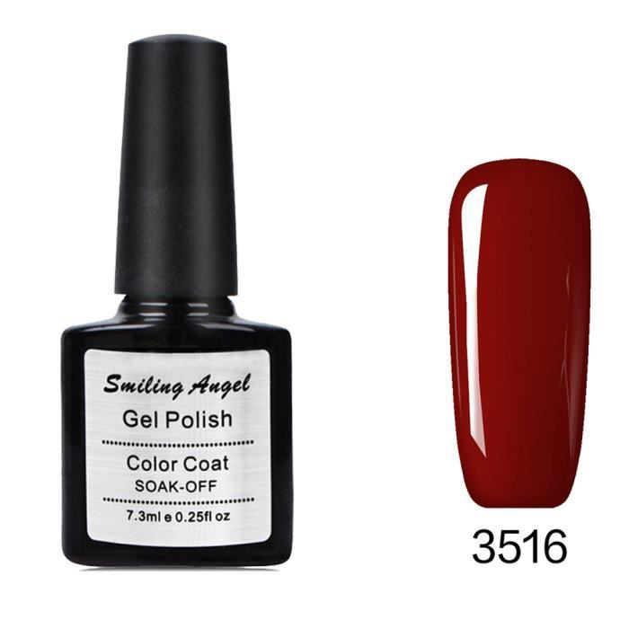 vernis semi permanent gel polish manucure couleur 3516 achat vente vernis a ongles. Black Bedroom Furniture Sets. Home Design Ideas