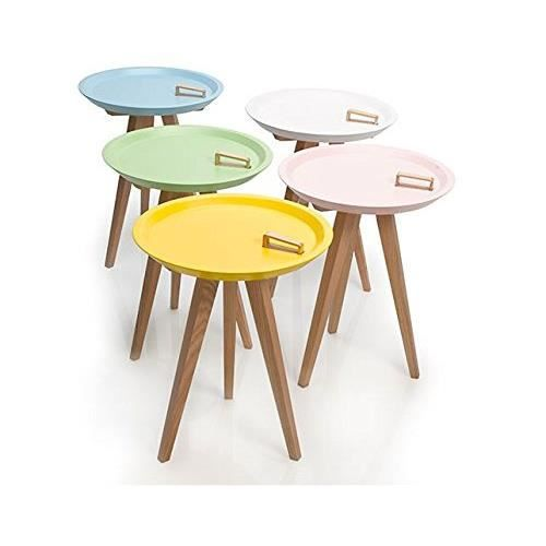 Petite table couleurs achat vente table basse petite for Petite table basse but