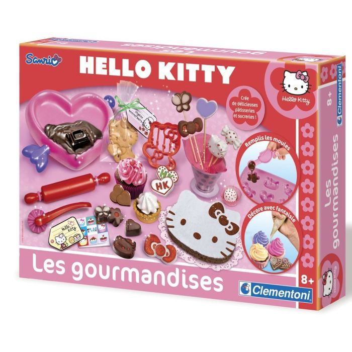 hello kitty gourmandises clementoni achat vente dinette cuisine soldes cdiscount. Black Bedroom Furniture Sets. Home Design Ideas