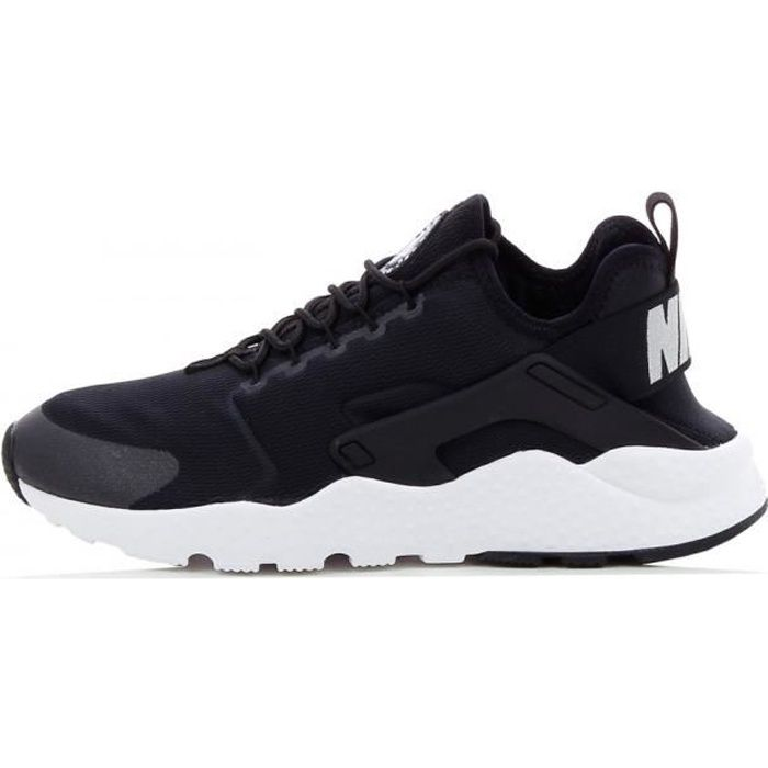 basket nike air huarache run ultra 819151 001 noir noir achat vente basket cdiscount. Black Bedroom Furniture Sets. Home Design Ideas